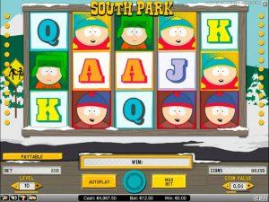 Machine à sous South Park